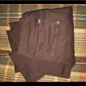 Perfect chocolate brown straight pants